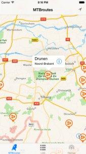 MTB Routes: App voor Mountainbike routes door Nederland