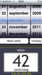 Week App: App voor het vinden van weeknummers