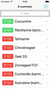 App voor controle E-nummers