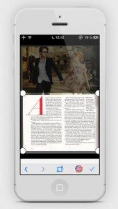 App Digitaliseren teksten en documenten