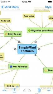 SimpleMind+: gratis app Makkelijk mindmappen