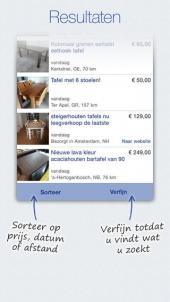 App voor tweede hands spullen