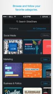 App voor delen/ontdekken presentaties