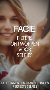 App voor selfie filters: FACIE