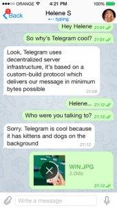 Telegram: App voor versleuteld berichten sturen