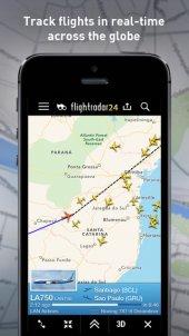 App voor volgen vluchten: Flightradar 24