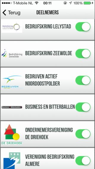 Deelnemers Business Connector