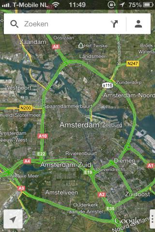 Google Maps app IOS6