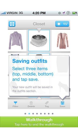 123DressMe: App voor kleding uitzoeken