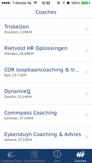 Loopbaan-Check Coaches