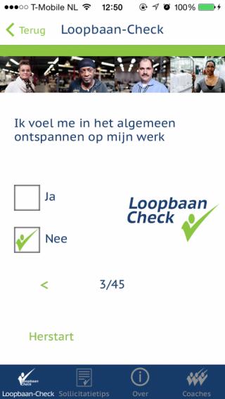 Loopbaan-Check vragen