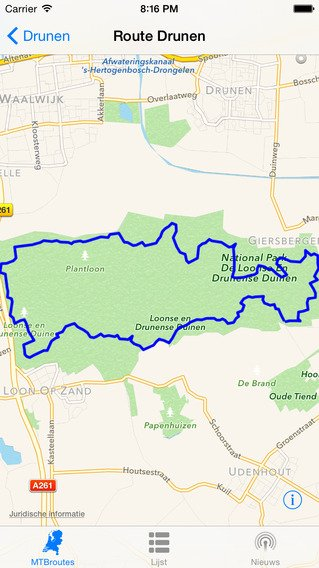 MTB Routes: App voor Mountainbike routes door Nederland