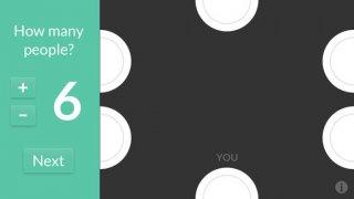 App voor het delen van restaurant rekening