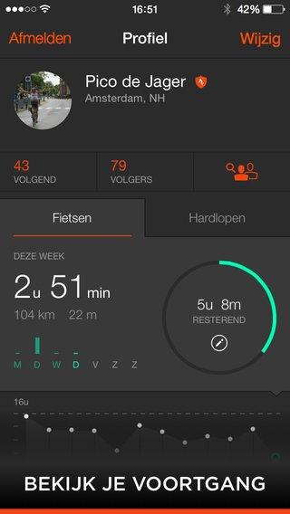 Strava: App voor hardloop en fiets routetijden