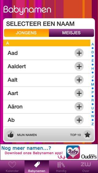 Zwanger.nl app: voor vragen over je zwangerschap
