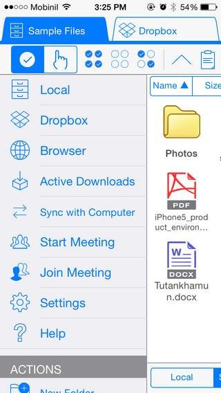 iDoc Plus: App voor Word documenten