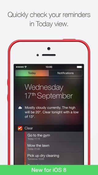 Clear: App voor bijhouden taken