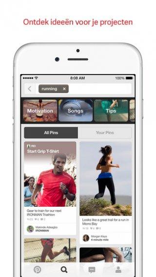 Pinterest: App voor inspiratie en creatieve ideeen