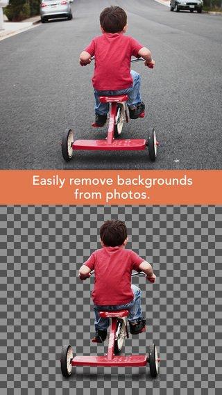 Union: App voor het aanpassen van foto lagen