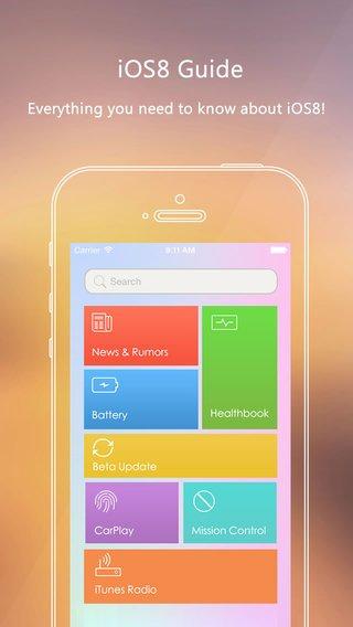 App voor uitleg iOS 8