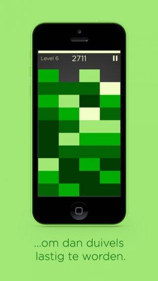 Kleurtinten tetris app