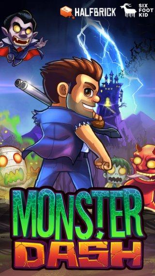 Monster Dash: Monsters killen game