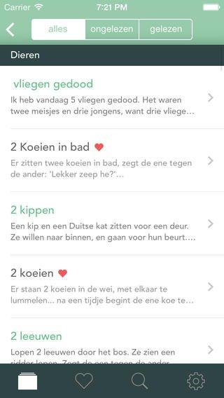 App voor moppen