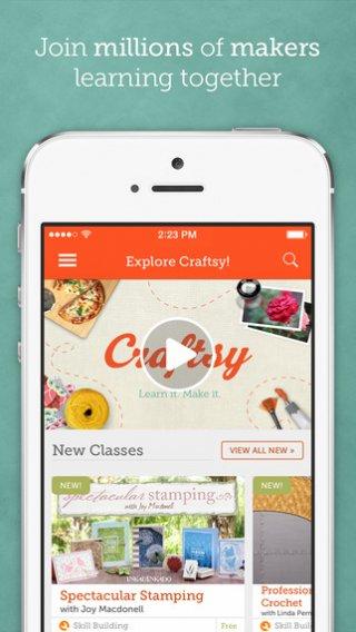 Ontwikkel je creativiteit met Craftsy