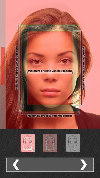 App maken officiële pasfoto