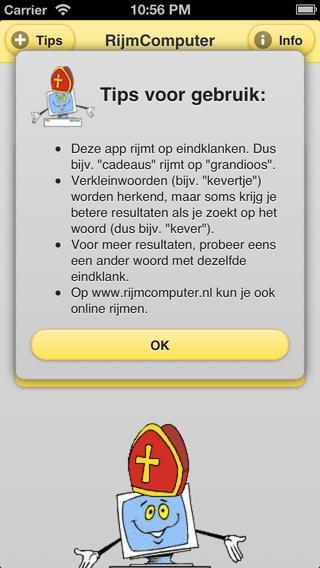 App voor rijmwoorden