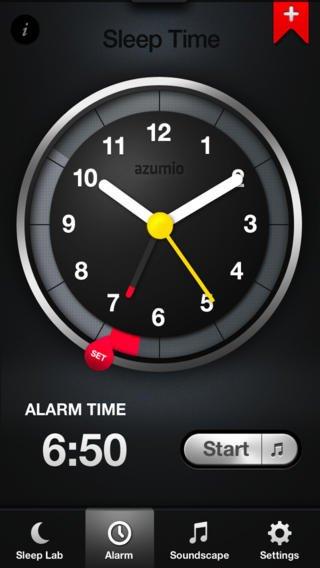 App voor uitgerust wakker worden