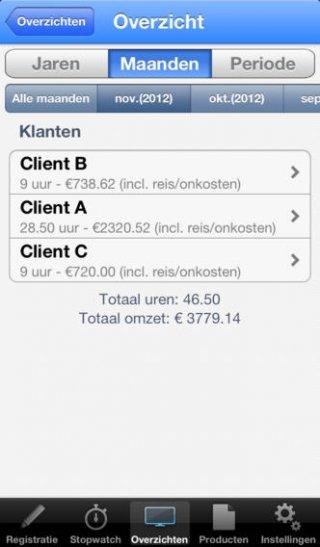 App urenregistratie zzp-ers