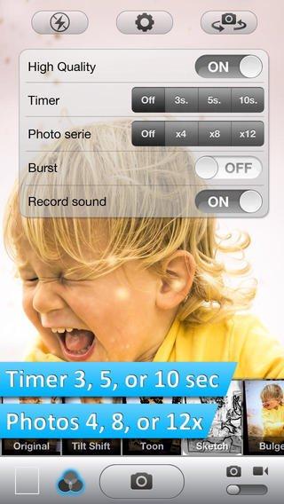 App zelfontspanner iPhone 4 iOS7